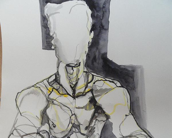 Lijnen tekenen het lichaam